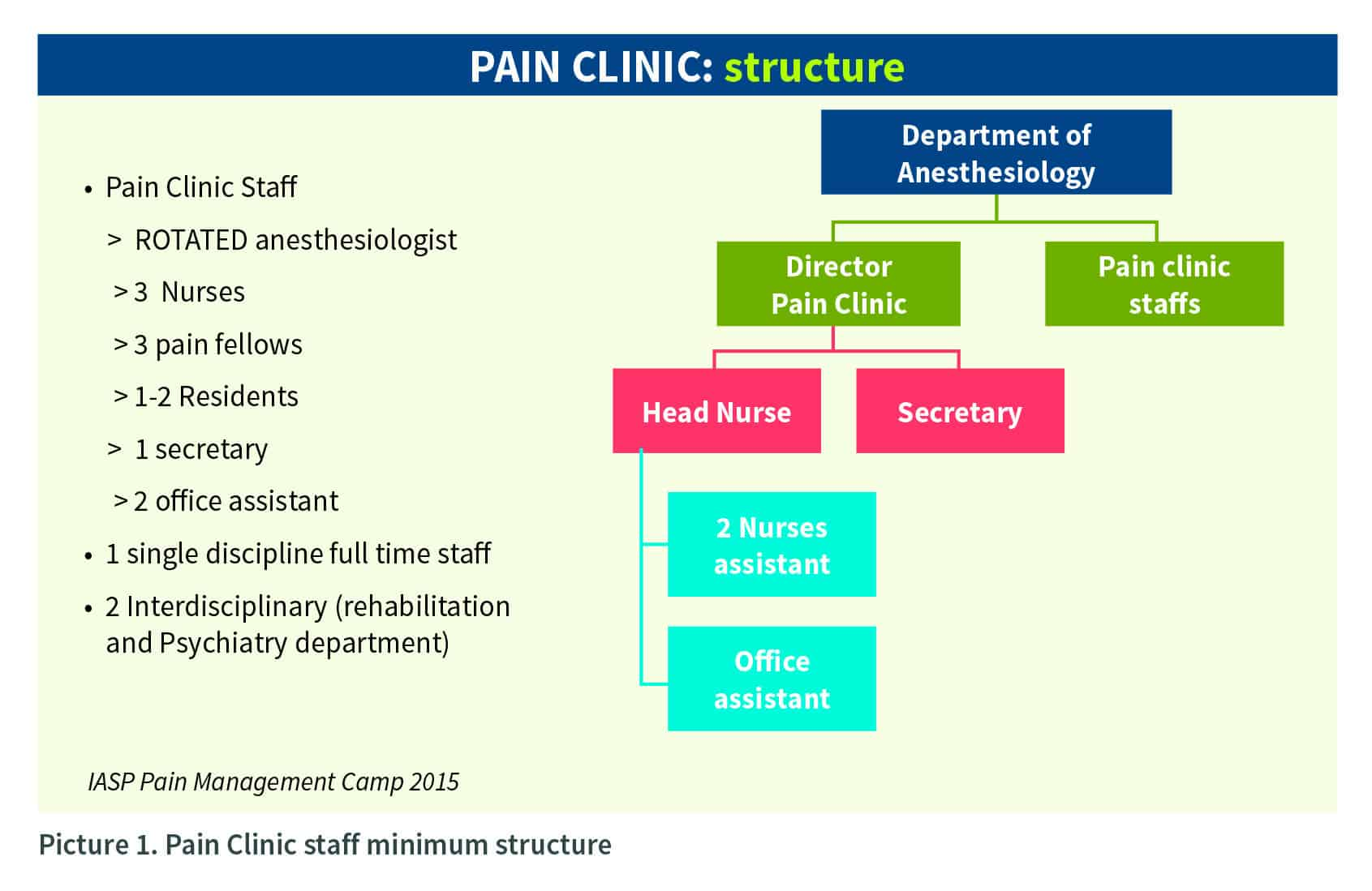 Pain Clinic Structure