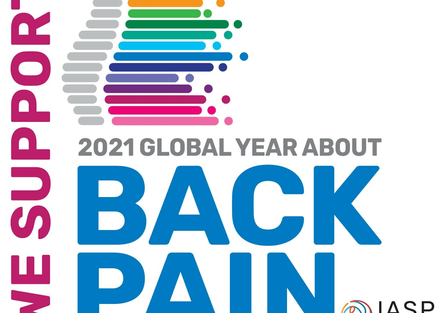 We Support 2021 Global Year About Back Pain